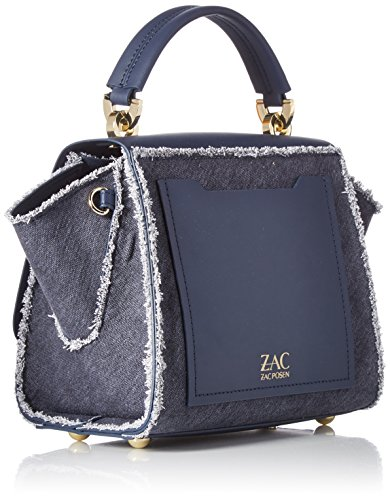 Denim Iconic Eartha Crossbody Zac Handle Top ZAC Posen wZUvqwB