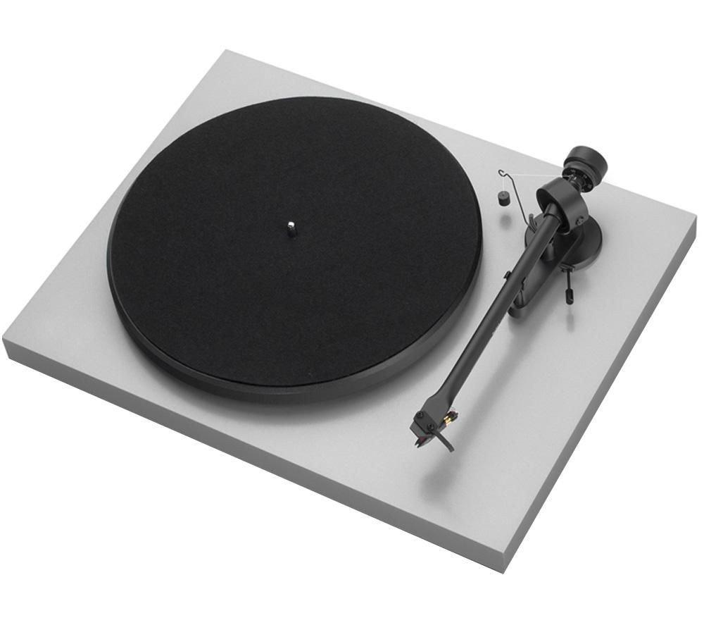 Pro-Ject Debut III E - Tocadiscos, color plateado: Amazon.es ...