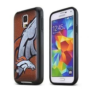Galaxy S5 Case, NFL Licensed Denver Broncos Protective Hybrid Case for Samsung Galaxy S5 (2014)