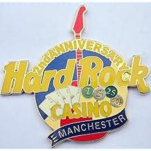 2nd Anniversary Guitar Pin Hard Rock Casino Manchester