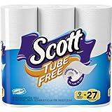 Scott Toilet Paper, Tube Free, 9 Mega Rolls