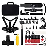 Victure Action Camera Accessories Outdoor Sports Combo Kit for APEMAN / Victure / AKASO / DBPOWER / Campark / Crosstour