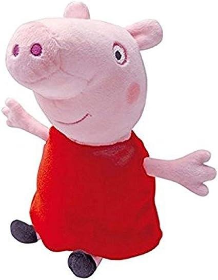 "jouets en peluche environ 12/"" de hauteur Grand Peppa Pig Princess Peppa Beanie Baby"