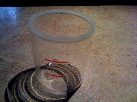 Glass Jar for Facial Steamer - Glasses Facial