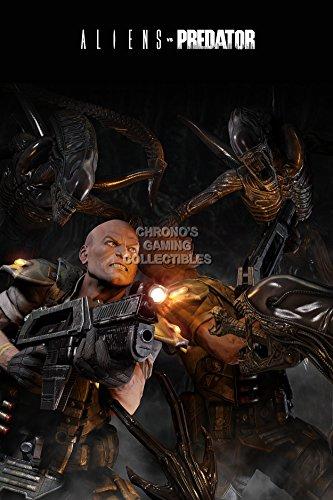 "Price comparison product image CGC Huge Poster - Alien vs Predator PS3 XBOX 360 - OTH111 (24"" x 36"" (61cm x 91.5cm))"