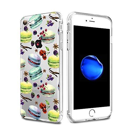 Funda de silicona de IPhone 7 Vanki®Ultra Delgado TPU superiores estuche blando transparente cristalina clara para Apple IPhone 7 3