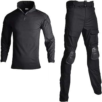 Camisa Uniforme Militar y Pantalones con los Cojines de Codo ...