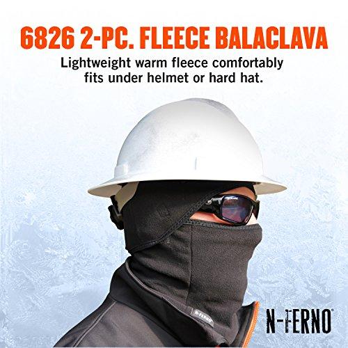 N Ferno 6826 Thermal Fleece Two Piece Detachable Balaclava