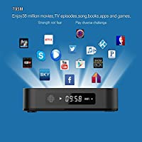 HUBEE T95M Pro 4K 16.1 Quad Core H.265 Android TV Box