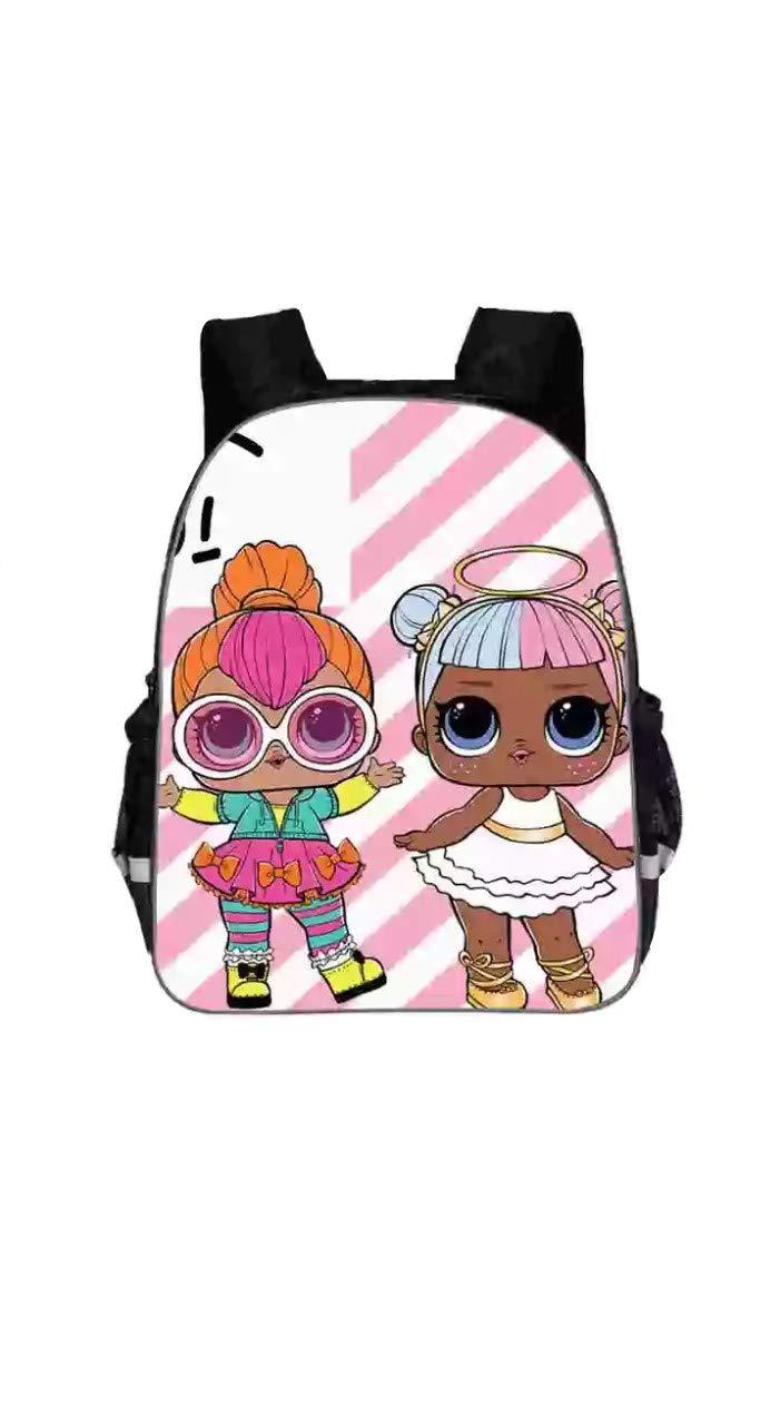 Mochila escolar muñecas de moda 2018 divertidas y originales para niñas y niños baratas: Amazon.es: Equipaje