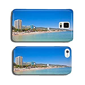 Panoramic view on Varna beach in Bulgaria. cell phone cover case Samsung S6