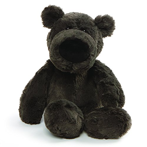 GUND Henry Teddy Bear Stuffed Animal Plush, Dark Gray, 12