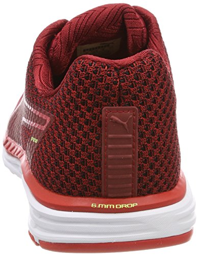 Puma Speed 500 Ignite 3, Scape per Sport Outdoor Uomo Rosso (Flame Scarlet-fizzy Yellow)