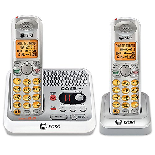 AT&T EL52210 2-Handset Cordless Answering System with Caller ID/Call Waiting by AT&T