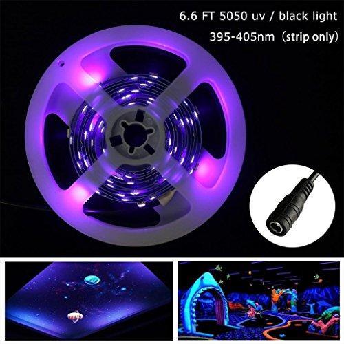 Blacklights 395nm 405nm Flexible Ultraviolet Fixture product image