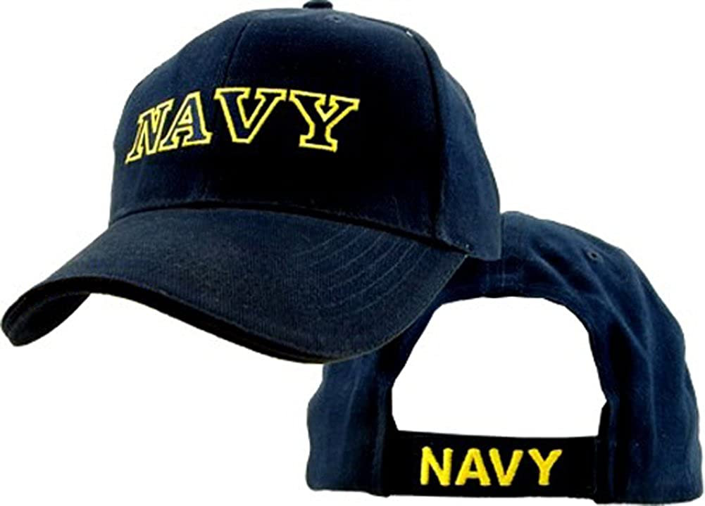 Amazon.com  Eagle Crest U.S. Navy Baseball cap hat  Clothing 040054eea56