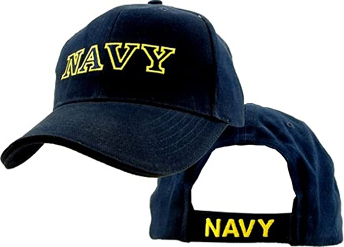 4ec8a81c212 Amazon.com  Eagle Crest U.S. Navy Baseball cap hat  Clothing