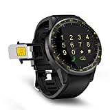 GPS Bluetooth 4.0 Smart Sports Watch Fitness Tracker Round High-Definition IPS Touch Touch Screen MT2503 Chip Smart Sports Watch, for iOS Android Samsung F1 1.3inch Smart Watch