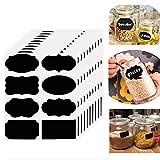 Chalkboard Labels -80 Premium Chalkboard Sticker