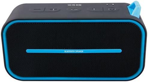 See Me Here BV500 Ultra portátil inalámbrico altavoz Bluetooth: más fuerte, más volumen, graves, IPX5 altavoz resistente al agua, ideal para golf, ...