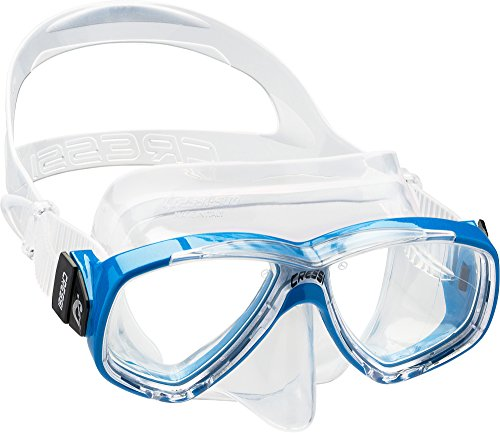 (Cressi Perla, clear/blue)