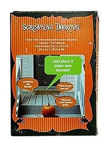 Halloween 1 X Pressure Sensitive SCREAMING DOORMAT Decoration BATTERY OPERATED (Just Place It Under Your Doormat)