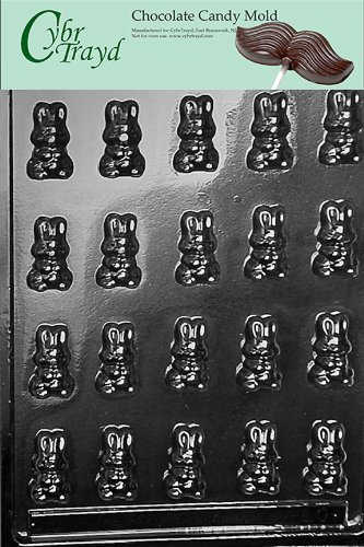 Cybrtrayd Life of the Party E000 Bunnies Easter Chocolate Ca