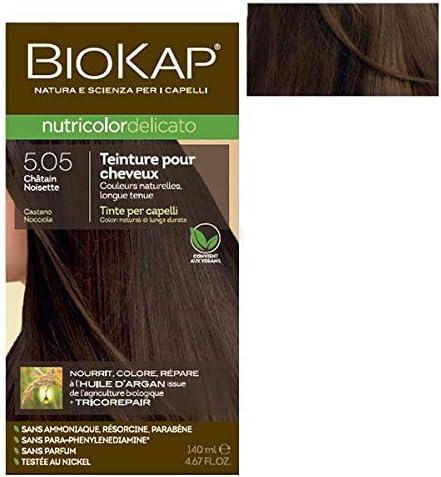 Biokap – Coloración delicada 5.05 castaño avellano, 140 ml ...
