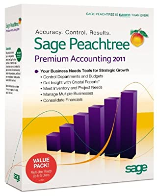 Sage Peachtree Premium Accounting 2011 Multi User [OLD VERSION]