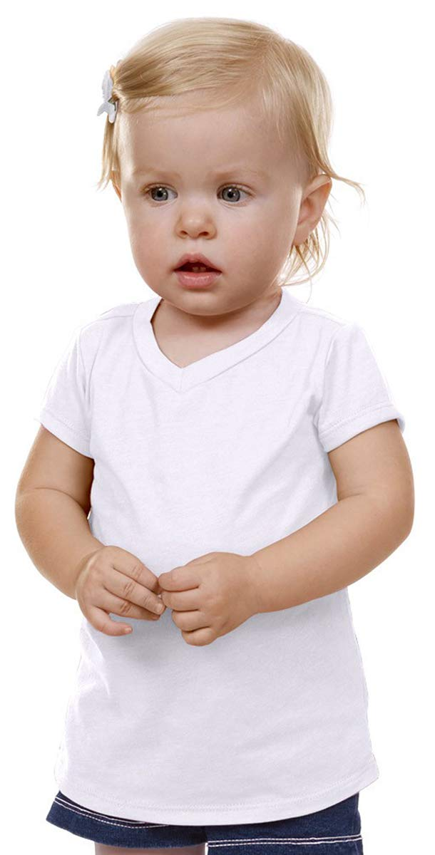 Kavio! Unisex Infants V Neck Short Sleeve