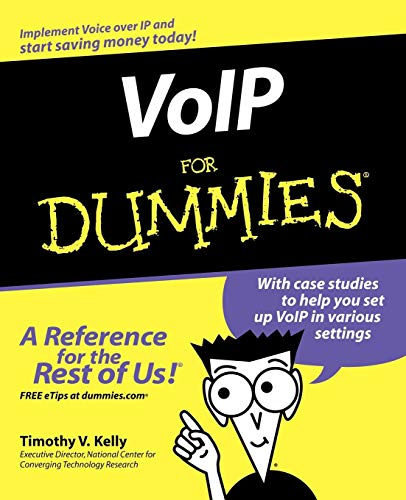 - VoIP For Dummies