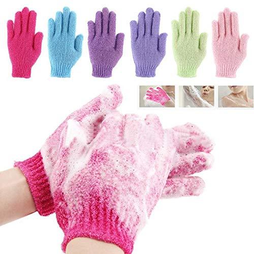 Happeks Genuine Fine Bath Gloves Exfoliating Shower Mitts by The Body Shop Cold Weather Gloves