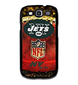 Tomhousomick Custom Design The NFL Team New York Jets Case Cover for Samsung galaxy S3