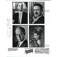 "1994 Press Photo ""Radioland Murders"" Larry Miller,Jeffrey Tambor, anita Morris"