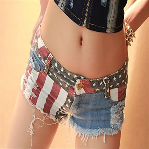 1 Hot Commerce Sexy Jean Short WINWINTOM CorEn Pants Jeans Basse MarE Taille Shorts AmRicains 2018 PC A Mini Femelle Denim AmRicains xz0qZnw