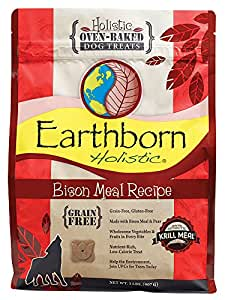Amazon.com : Earthborn Holistic Bison Meal Recipe Oven