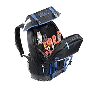 Heytec 50810522700 Electricistas Mochila con VDE de surtido de herramientas 26 piezas): Amazon.es: Bricolaje y herramientas