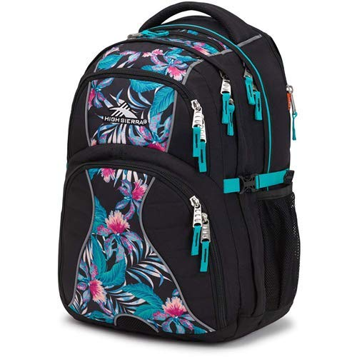 Media Versatile Panel - High Sierra Swerve Laptop Backpack, 17-inch Laptop Backpack for High School or College, Ideal Gaming Laptop Backpack, Large Compartment Student Laptop Backpack with Organizer Pocket