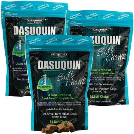 Dasuquin 3PACK Soft Chews for Small to Medium Dogs (252 Chews) (Dasuquin For Cats Best Price)