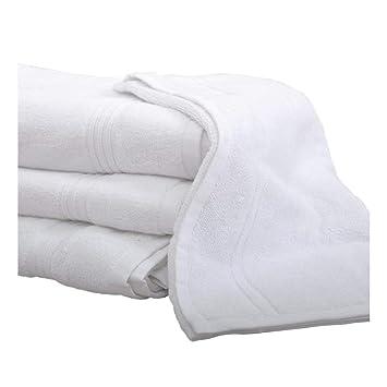 Hotel de lujo blanco de alta calidad 100% algodón toalla de baño toalla de baño