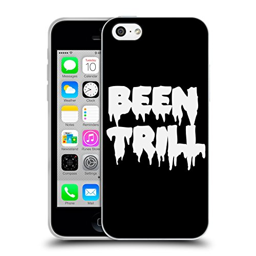 Official Been Trill Logo Drip 1 Black And White Soft Gel Case for Apple iPhone 5c