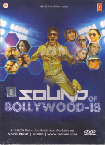 Sound Of Bollywood 18 (Latest Bollywood Music Videos / Includes Hits From Chennai Express, Besharam, Grand Masti, Yeh Jawaani Hai Deewani...etc / Bollywood Songs Compilation DVD)
