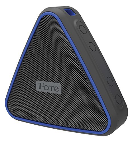 iHome iBT37BLC Wireless Waterproof Speaker Black/Blue