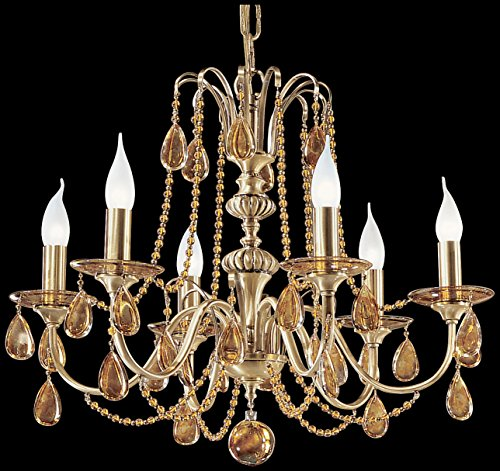 Classic Lighting 1226 FBR OTS Brussels, Crystal, Chandelier, 25