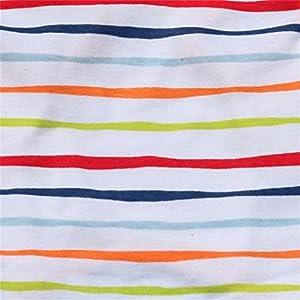 haoricu Pet Clothes, Striped Cotton Stretch Vest Dog Pet Clothes for Small Coat Dog Vest (XS, Orange)