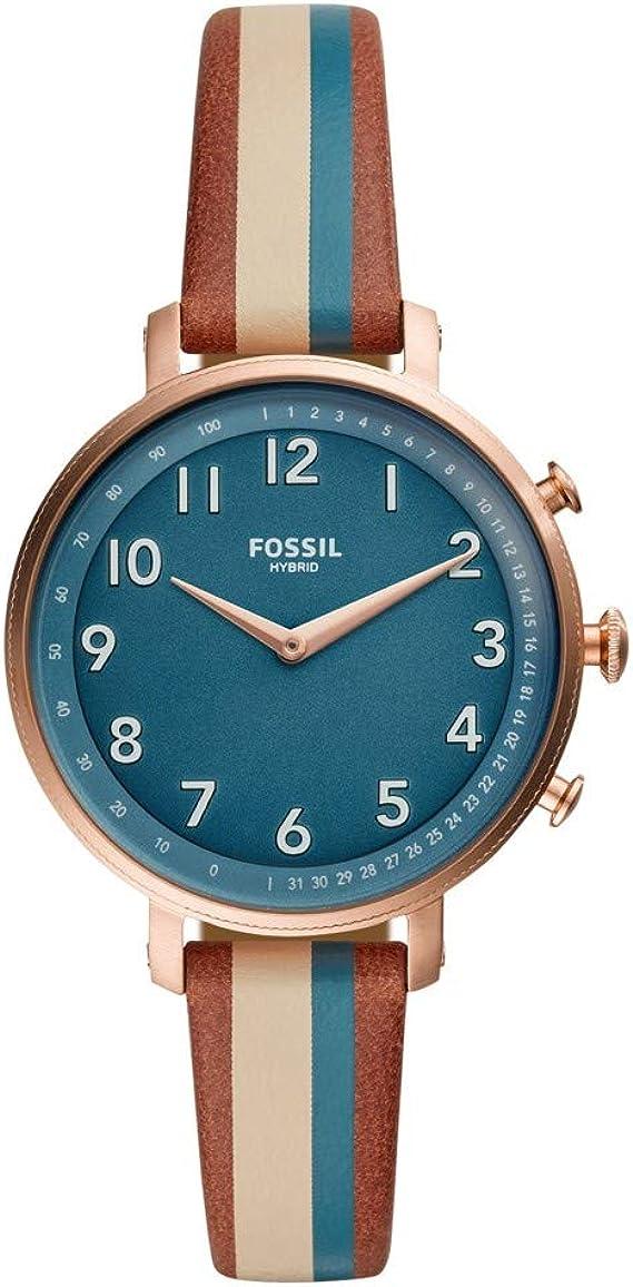Fossil Cameron Ladies Reloj Híbrido Smartwatch con Caja en ...