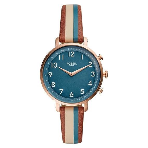 Fossil Cameron Ladies Reloj Híbrido Smartwatch con Caja en Acero ...