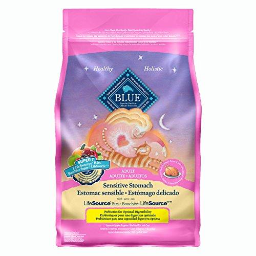 Blue for Cat 800697 Receta de Pollo y Arroz Integral para Gatos Adultos Sensitive Stomach (2.3 kg)