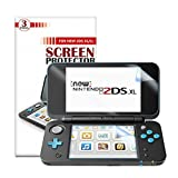 NEW Nintendo 2DS XL Screen Protector [6 PCS/3 Top , 3 Bottom ]], Keten Full Coverage High Definition Screen Protector for Nintendo 2DS XL 2017 with Anti-scratch, Ultra-thin, Sensitive-Touch