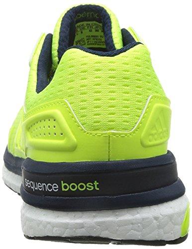 adidas Supernova Sequence Boost 8 M Zapatillas de Atletismo para Hombre Amarillo / Azul marino